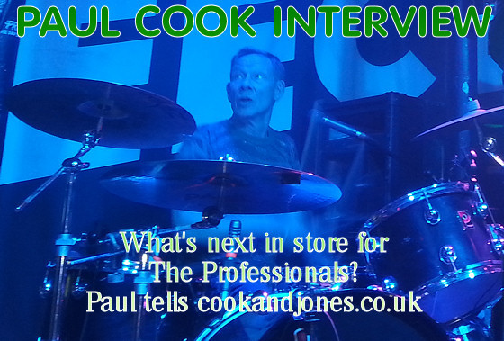 Paul Cook Interview